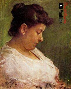 Retrato de la madre del artista