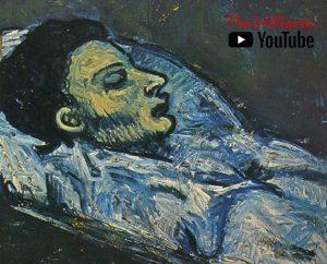 Pintura de la muerte de Casagemas, pintado por Picasso