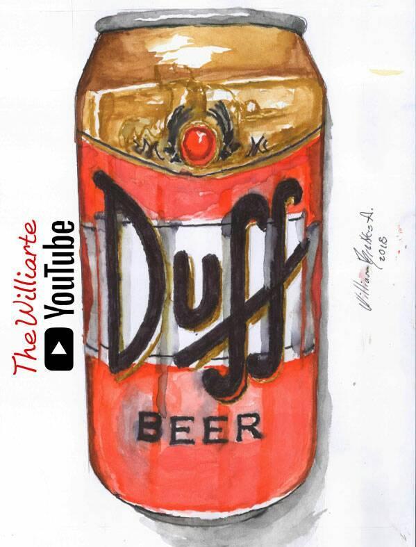 Cerveza Duff Beer Simpson