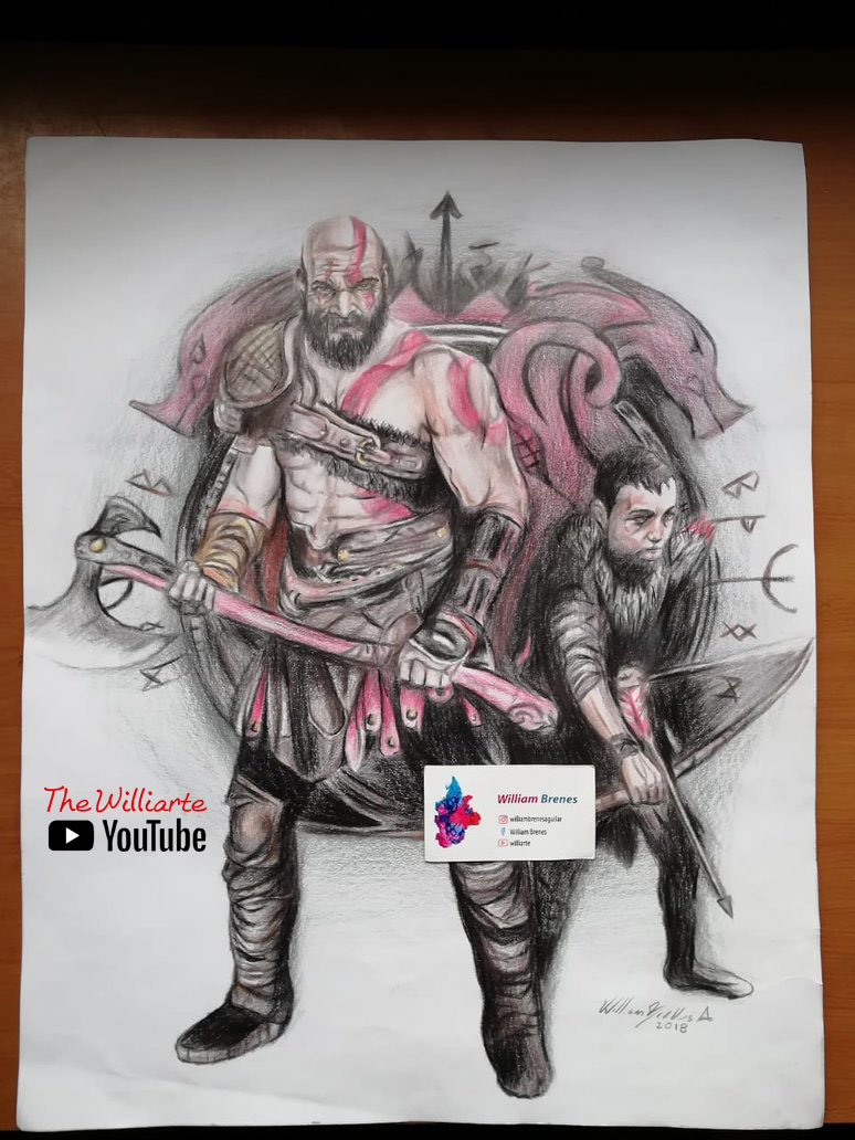 Kratos and Son / God of War