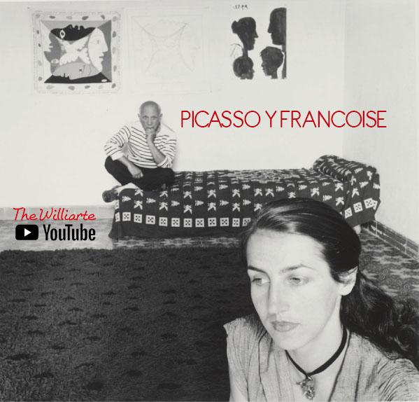 Picasso y Francoise Gilot